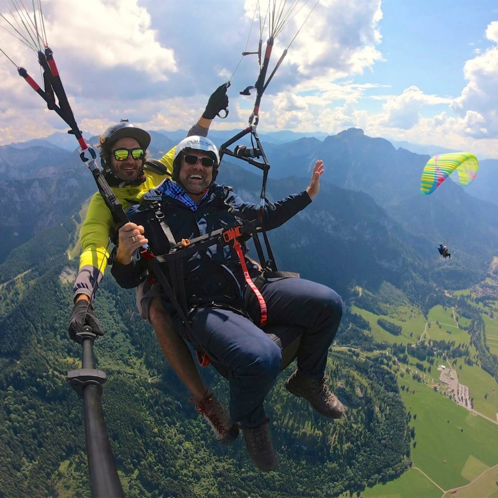 fly royal paragliding tandemflug