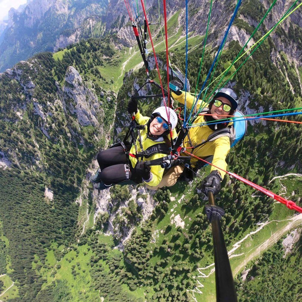 fly royal paragliding gleitschirm tandemflug.